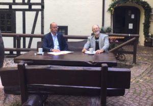 Hartmut Handschak (parteilos) im Sommerinterview mit Kurt Treuter, Offener Kanal Merseburg-Querfurt e.V.