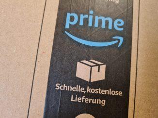 Logistik Transport Amazon Paket