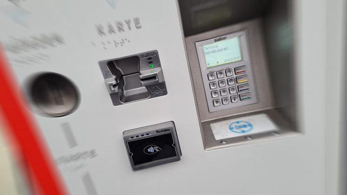 HAVAG Fahrkarten Automat