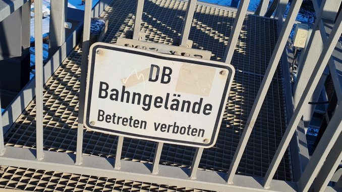 Deutsche Bahn DB Gleisen