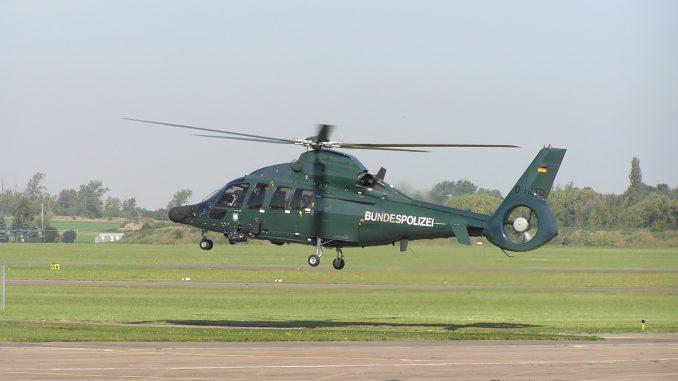Polizei Bundespolizei Helikopter