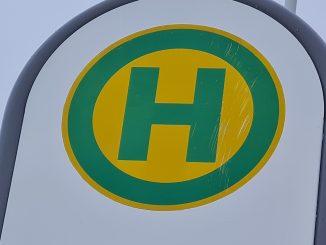 Haltestelle Bus HAVAG