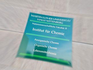 Martin-Luther-Universität MLU Chemie Wissenschaft Forschung