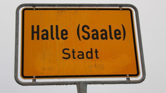 Ortseingang Halle