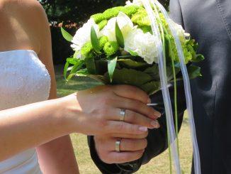 Hochzeit Liebe Vertrauen Freude Glück