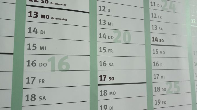 Termin Kalender