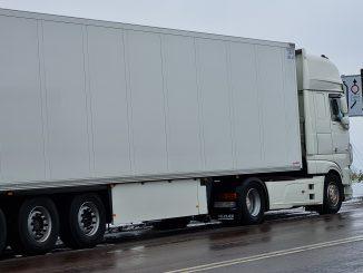 LKW Schleusung Unfall Polizei Logistik