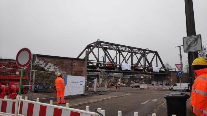 Merseburger Strasse Brücke DB