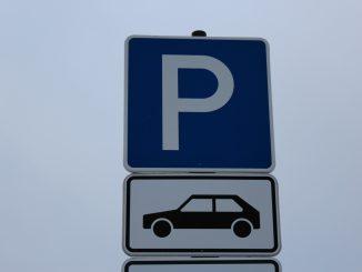 Parkplatz Verkehr