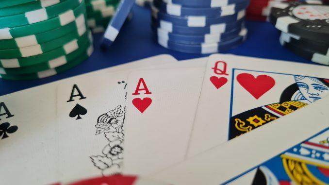 Poker Chips Glücksspiel