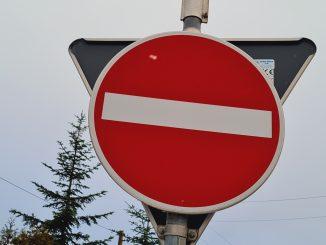 Verkehr Schild
