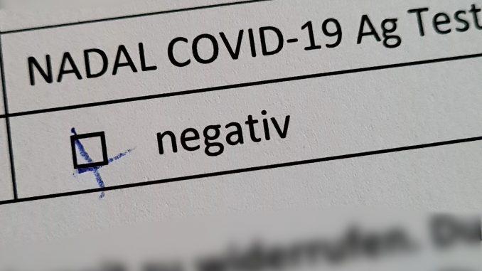 Schnelltest Corona-Virus