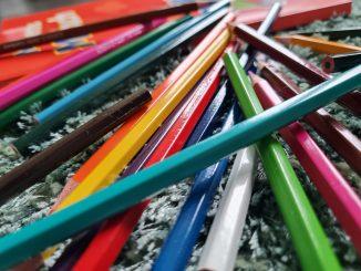Buntstifte Kinder Malen bunt Kreativität