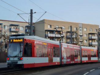 Straßenbahn Tram HAVAG Halle
