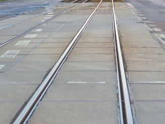 Gleise Strassenbahn