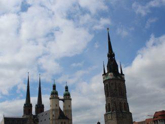 Roter Turm Marktplatz
