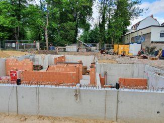 Baustelle Wohnhaus