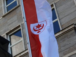 Halle Flagge