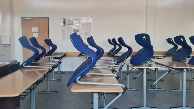 Schule Klassenraum