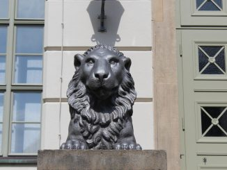 Löwengebäude Halle