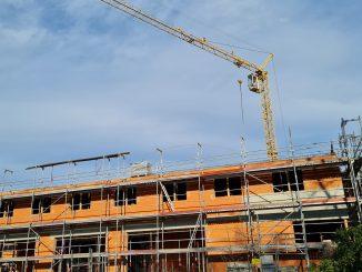 Baustelle Rohbau Neubau
