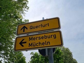Wegweiser Saalekreis