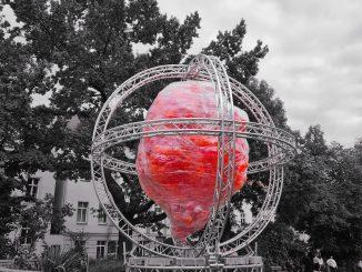 Pulsar Skulptur Kunst