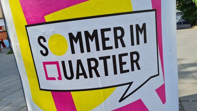 Sommer im Quartier